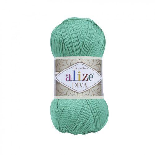 Diva Silky Effect 123 - smaragd zöld