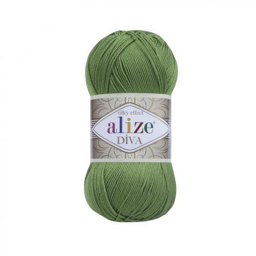 Diva Silky Effect 210 - olaj zöld