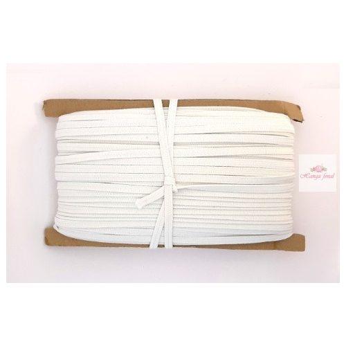 GALCO gumiszalag  6 mm - fehér