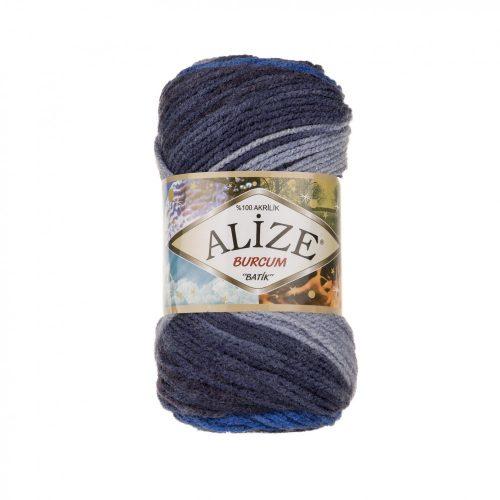 Burcum Batik 4761 - kék és szürke árnyalatai