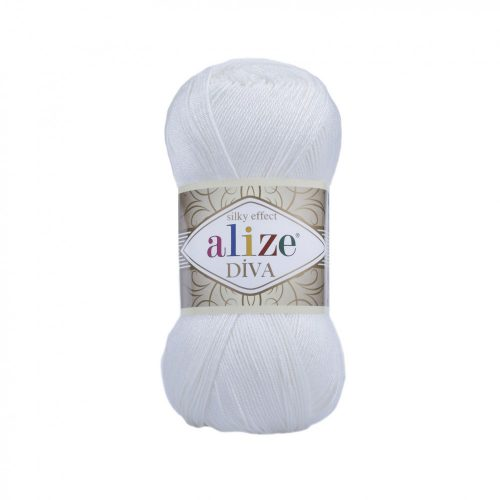 Diva Silky Effect 55 - fehér