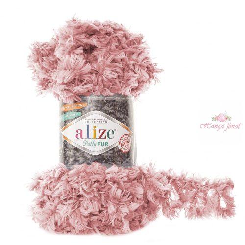 Puffy FUR 6102 - világos rózsaszín