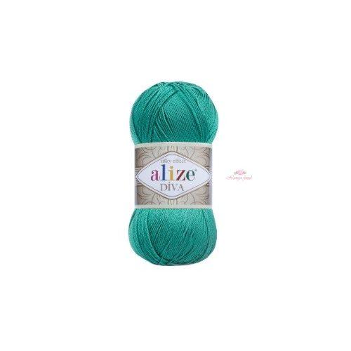 Diva Silky Effect 610 - páva zöld