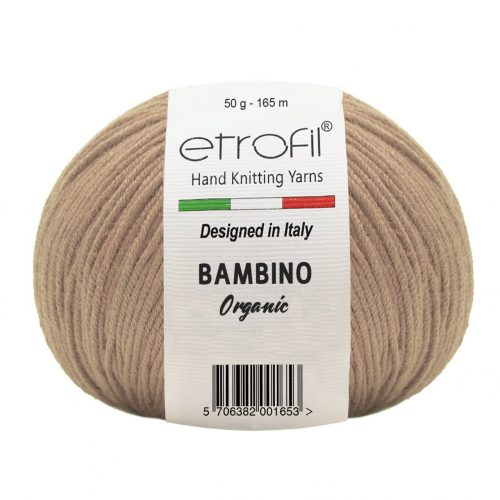 Bambino Organic 70078 - sötét bézs