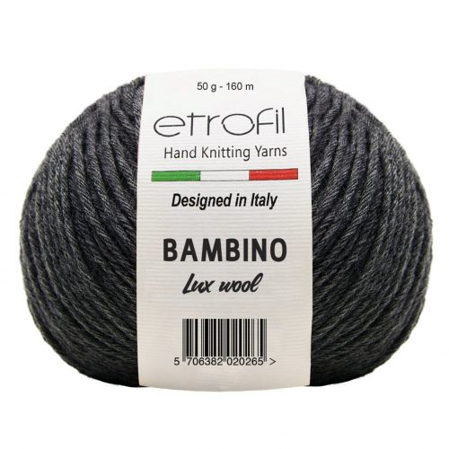 Bambino Lux Wool 70090 - antracit