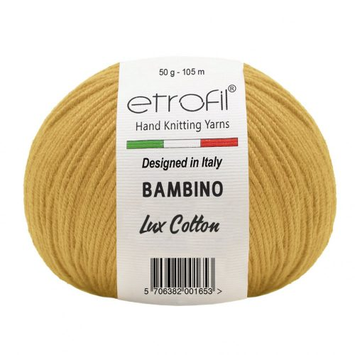 Bambino Lux Cotton 70221 - mustár
