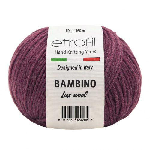 Bambino Lux Wool 70316 - sötét piros