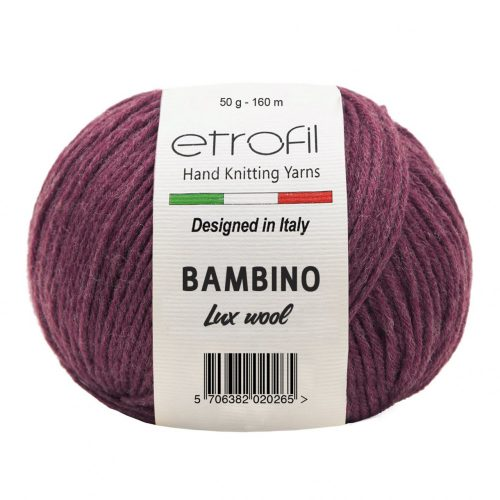 Bambino Lux Wool 70316 - borvörös
