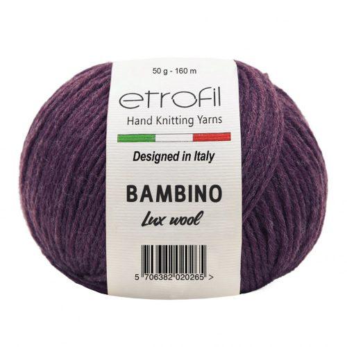Bambino Lux Wool 70317 - bordó
