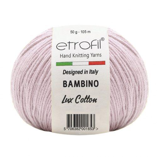 Bambino Lux Cotton 70324 - közép rózsaszín