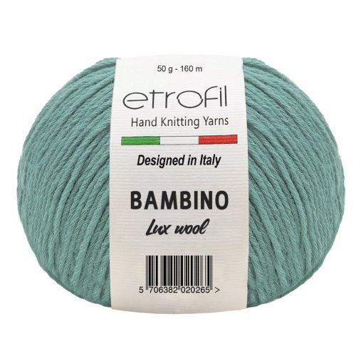 Bambino Lux Wool 70407 - türkiz zöld