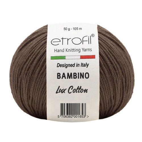 Bambino Lux Cotton 70707 - sötét barna