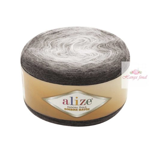 Angora Gold Ombre Batik 7267 - szürke