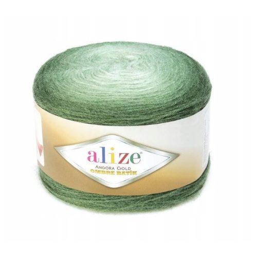 Angora Gold Ombre Batik 7297 - zöld