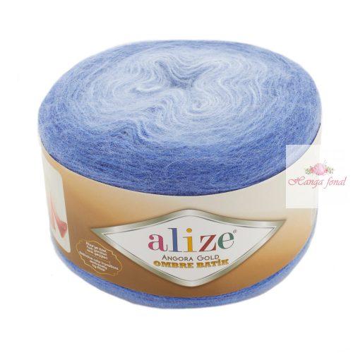 Angora Gold Ombre Batik 7303 - kék