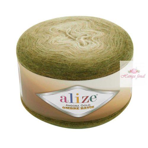 Angora Gold Ombre Batik 7355 - zöld