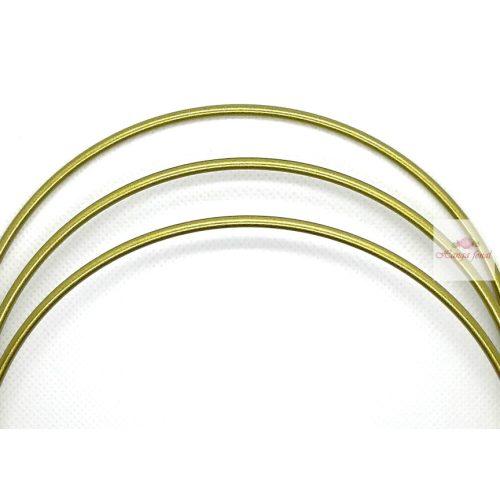 Mandala karika 15 cm ARANY